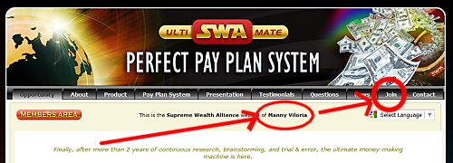 Supreme Wealth Alliance Manny Viloria Team