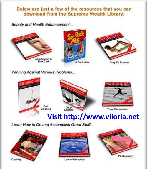 Supreme Wealth Alliance Personal Development Ebooks